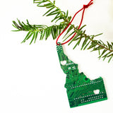 Circuit Board Ornament - State Pride
