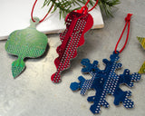 Circuit Board Ornament - Gift Set of Five