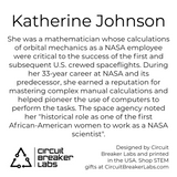 Katherine Johnson Art Print - 4x6 matted to 5x7