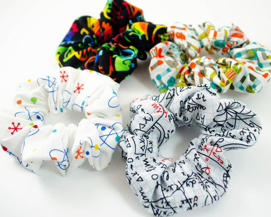 Four Pack of STEM Scrunchies