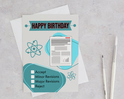Peer Reviewed Birthday Card