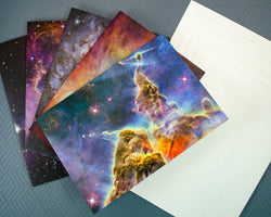 Galaxy & Nebula Greeting Card Set