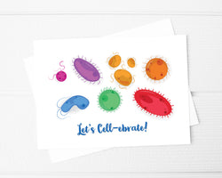 celebration cells card for biologists