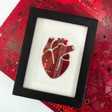 Mini Anatomical Heart Framed Art