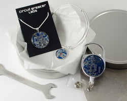 blue office professional gift set for her