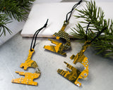 Circuit Board Microscope Ornament