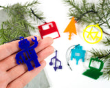 Computer Science - Set of 7 Ornaments