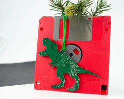 T-Rex Circuit Board Ornament