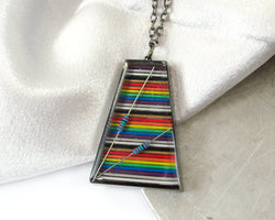 Trapezoid Necklace #4