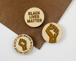 Black Lives Matter Pins Fundraiser - 100% going to NAACP Legal Defense and Educational Fund