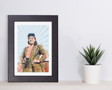 women who shaped science henrietta lacks geometric matted art print