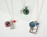 Math Charm Necklaces