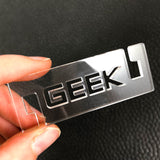 GEEK Acrylic Ear Savers - Ready to ship