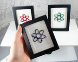 Mini Atom Framed Art