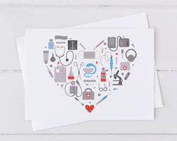 Medical Heart Card