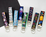 Wristlet Keychain - Outer Space
