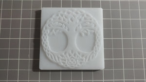 Circle of Life Leather Stamp