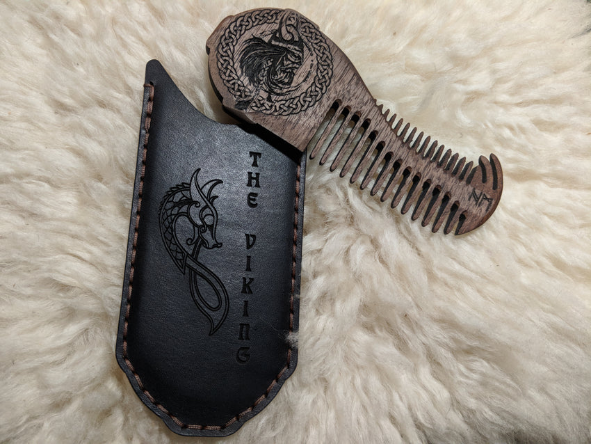 Viking Beard Comb