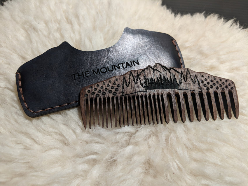 The Mountain Beard Comb