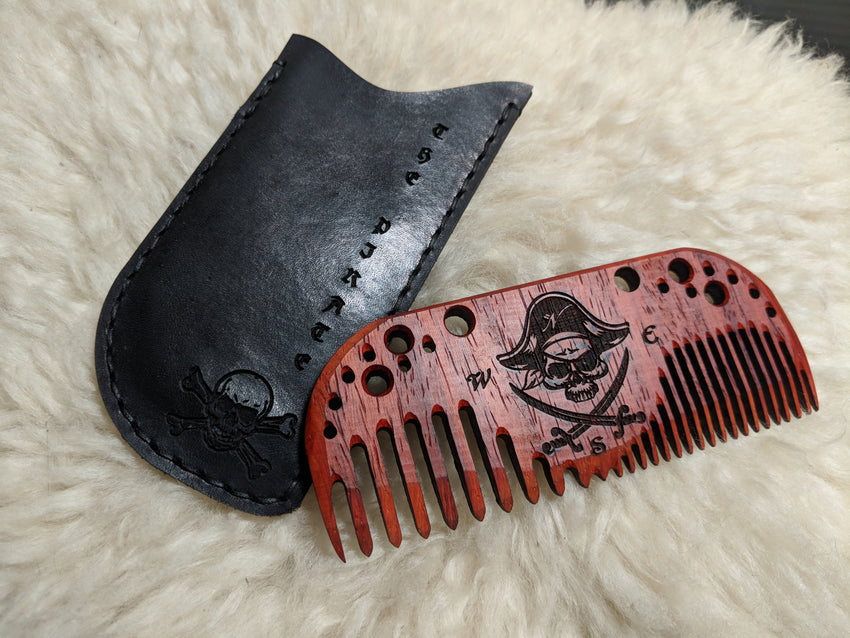 The Pirate Beard Comb
