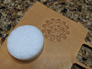 Nothern Native American Inspired Leather Stamp