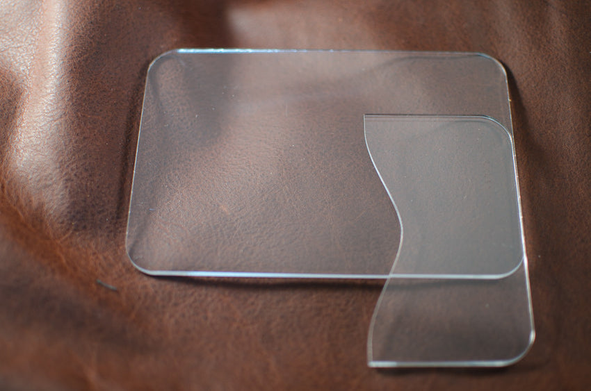 2 - Slot Card Wallet Acrylic Template