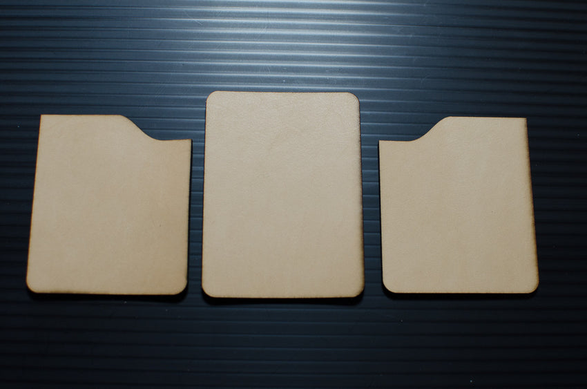 2-Slot Card Wallet Template Sample