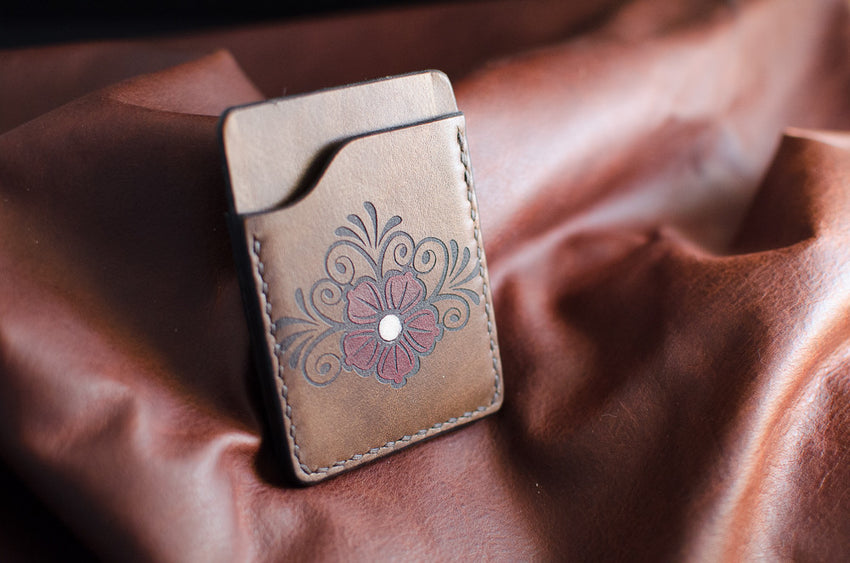 Floral 2-Slot Card Wallet
