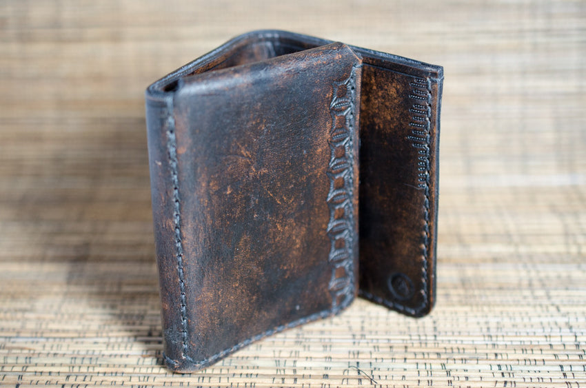 Nautical Leather Wallet