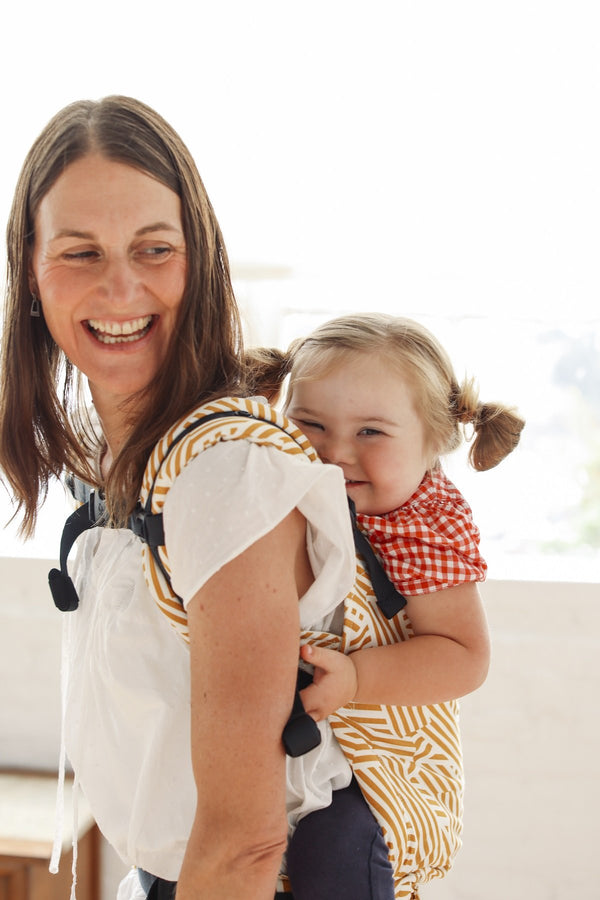 Sunset Stripes - Tula Baby Carrier - Baby Tula UK