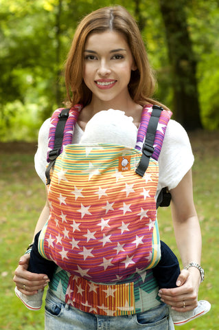 (Standard Size) Full Wrap Conversion Tula Baby Carrier - Constellation Athena