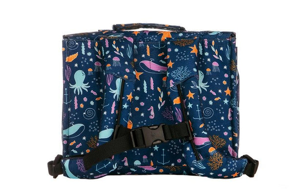 Deep Ocean - Tula Kids Backpack - Baby Tula UK