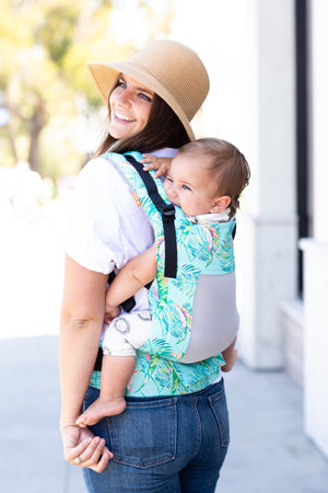 Coast Electric Leaves - Tula Toddler Carrier