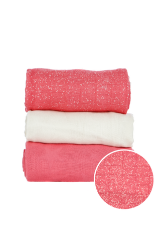 Emulsion Blooming - Tula Baby Blanket Set - Baby Tula UK