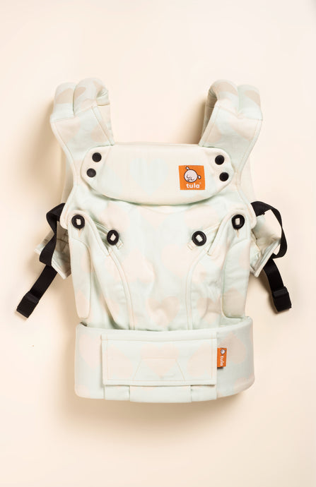 Tula Woven Love Vanilla Mint - Tula Signature Baby Carrier