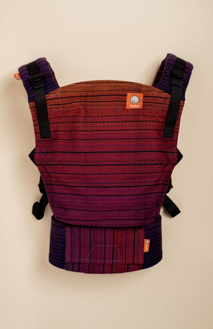 Girasol Twilight Diamond Weave (cuervo weft) - Tula Signature Baby Carrier