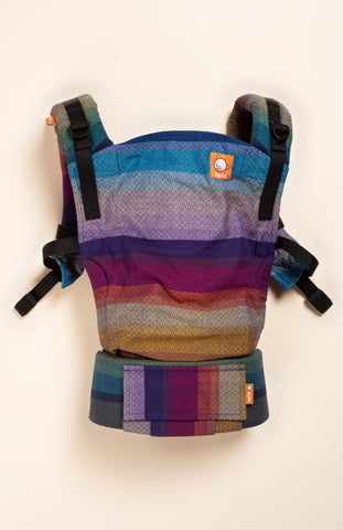 Girasol Elemental Rainbow Azul Capitan Diamond Weave - Tula Signature Baby Carrier