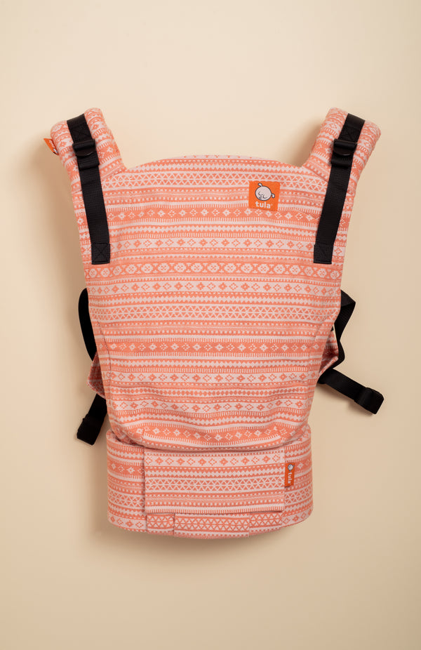 Oscha Sonsie Apricot - Tula Signature Baby Carrier - Baby Tula UK