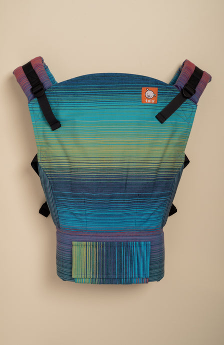 Girasol Summit Azul Pacifico Weft - Tula Signature Baby Carrier - Baby Tula UK