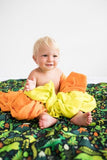 Hot Lava! - Tula Baby Blanket Set