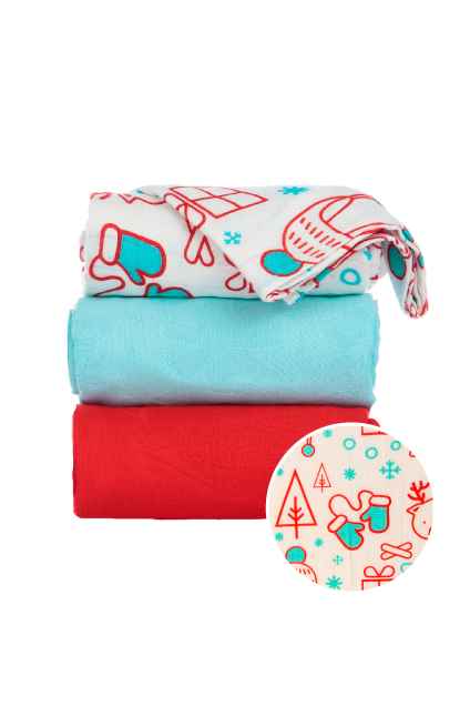 Snow Day - Tula Baby Blanket Set - Baby Tula UK