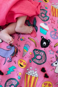Stickers - Tula Baby Blanket Set