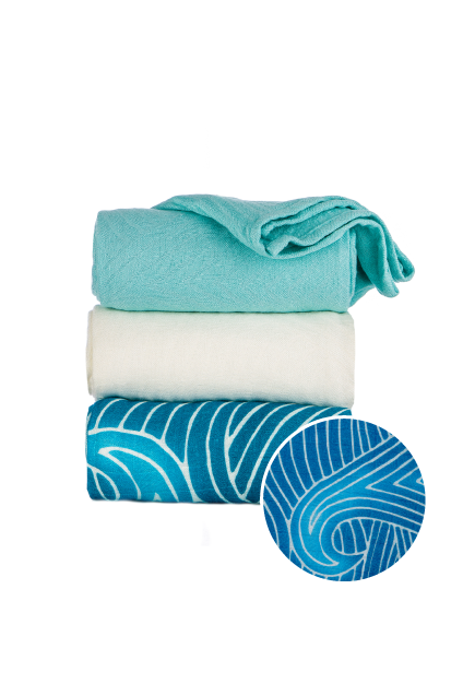 Waves - Tula Baby Blanket Set - Baby Tula UK