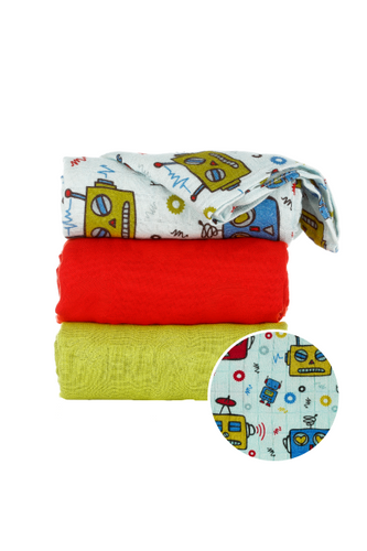 Zap - Tula Baby Blanket Set - Baby Tula UK
