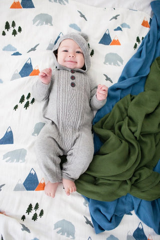 Fairbanks - Tula Baby Blanket Set