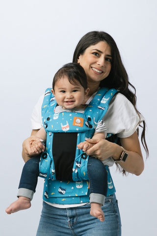 Coast Critter Squad - Tula Explore Baby Carrier