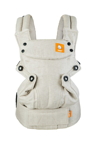 Sand - Tula Linen Explore Baby Carrier