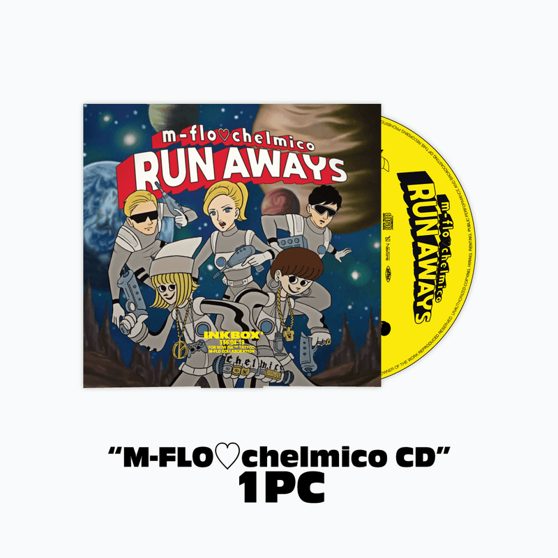 m-flo loves chelmico 「RUN AWAYS」 Inkbox Special Pack