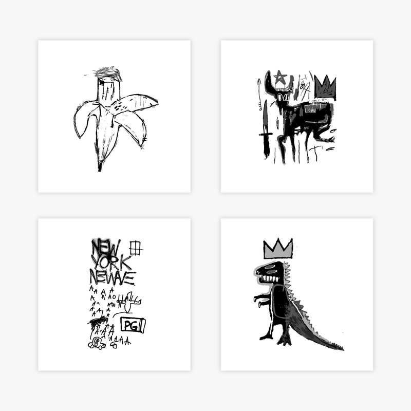 Basquiat Complete Set
