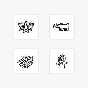 Keith Haring Complete Set